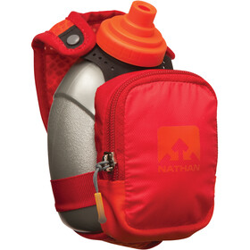 Nathan QuickShot Plus - Accesorios running - 300ml gris/rojo